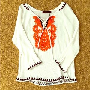 Stitch Fix THML Embroidered Top